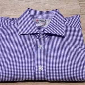 Turnbull & Asser Men's Button Down Shirt Medium